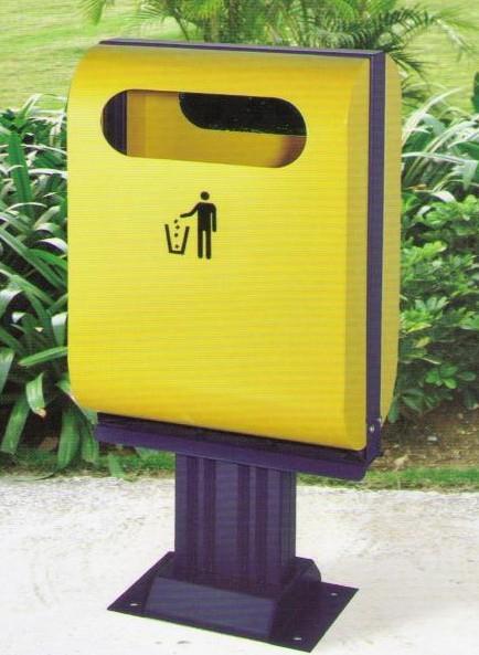 金属垃圾桶 - 户外金属垃圾箱